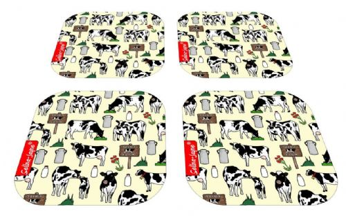 Selina-Jayne Cows Limited Edition Designer Coaster Gift Set